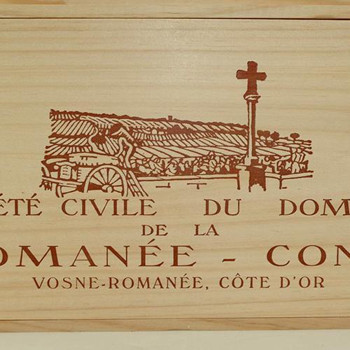Un Assortiment du Domaine de la Romanée Conti 2017 de 10 Btles en caisse bois d'origine / Adjugé 43050€ soit 53810€TTC