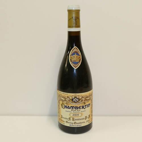 1 Btle Chambertin Grand Cru 2009 Domaine Armand / Adjugé 2050€ soit 2562€TTC